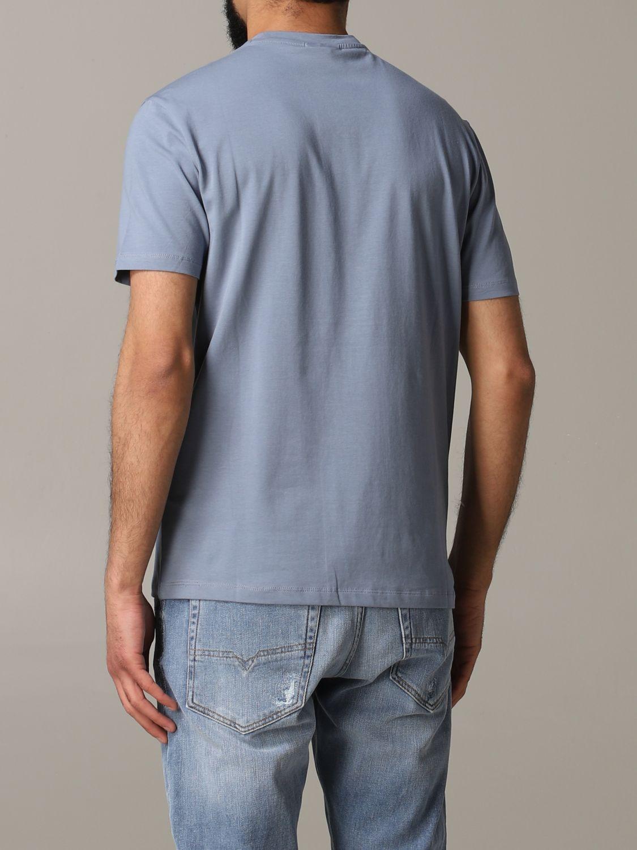 T-Shirt Emporio Armani: Emporio Armani T-Shirt mit Logo grau 3