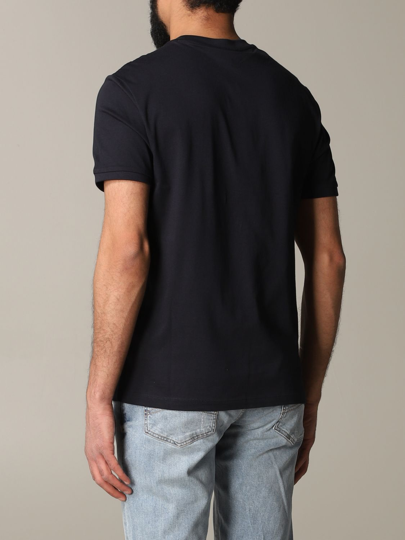 T-shirt Emporio Armani: T-shirt men Emporio Armani blue 3