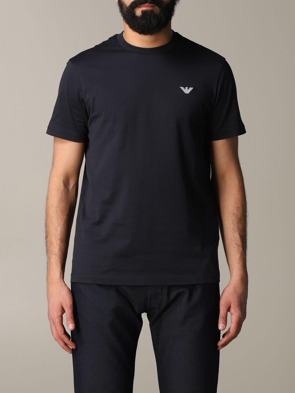 T-Shirt Emporio Armani: Emporio Armani T-Shirt mit Logo rot 1