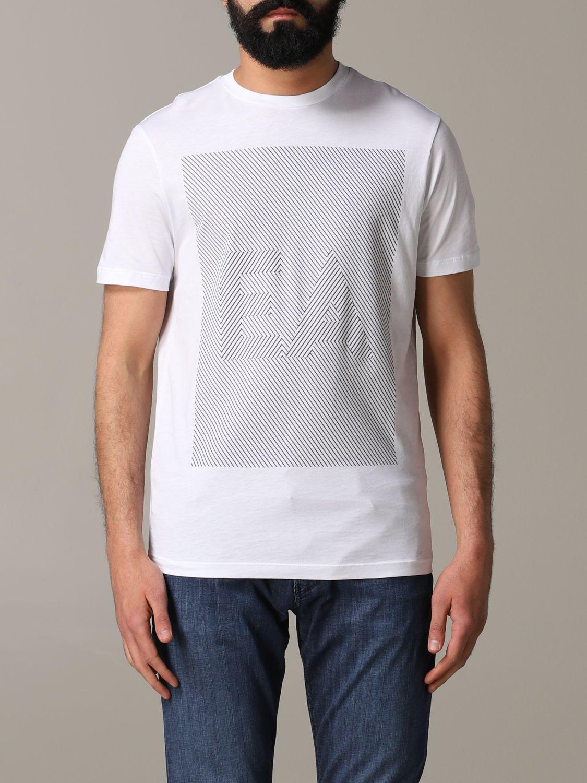 T-Shirt Emporio Armani: Emporio Armani T-Shirt mit Logo weiß 1