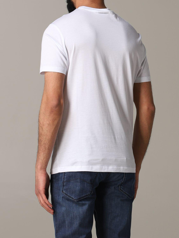 T-Shirt Emporio Armani: Emporio Armani T-Shirt mit Logo weiß 3