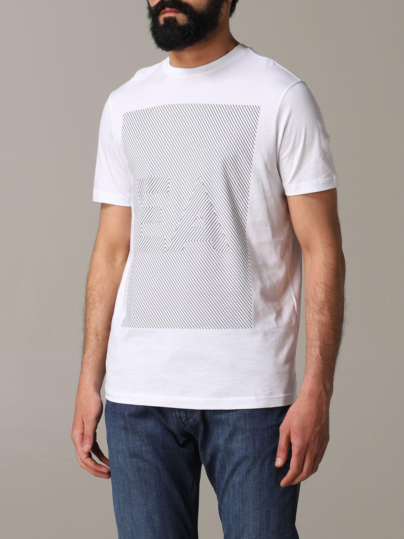 T-Shirt Emporio Armani: Emporio Armani T-Shirt mit Logo weiß 4