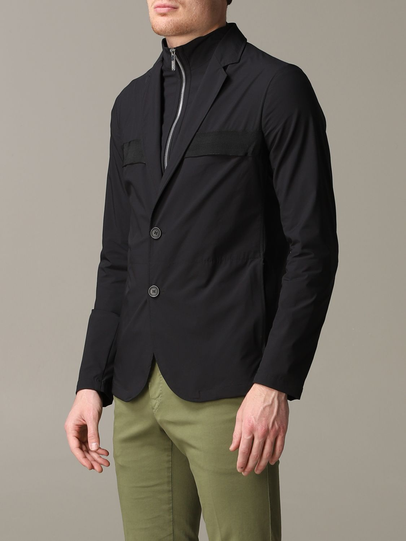 Blazer Emporio Armani: Emporio Armani Jacke schwarz 4