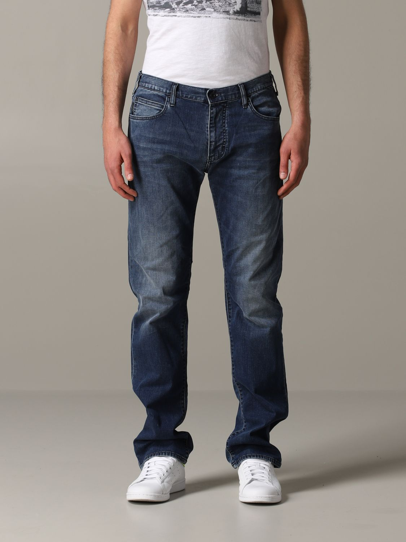 Jeans Emporio Armani: Emporio Armani Regular Fit 9,5 once Jeans denim 1
