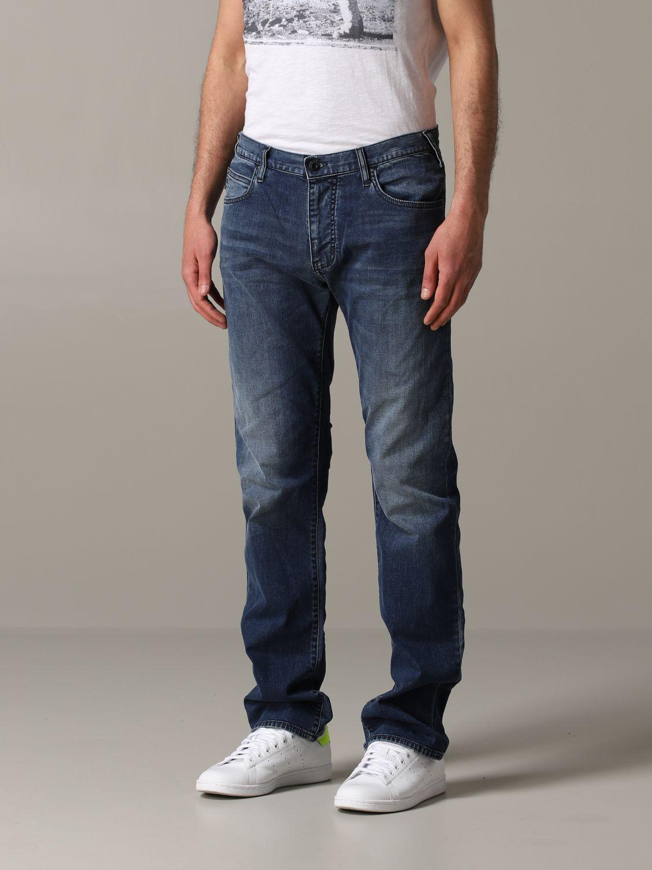 Jeans Emporio Armani: Emporio Armani Regular Fit 9,5 once Jeans denim 4