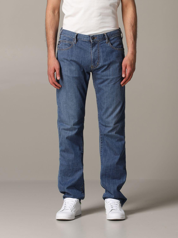 Jeans Emporio Armani: Emporio Armani Regular Fit Jeans denim 1