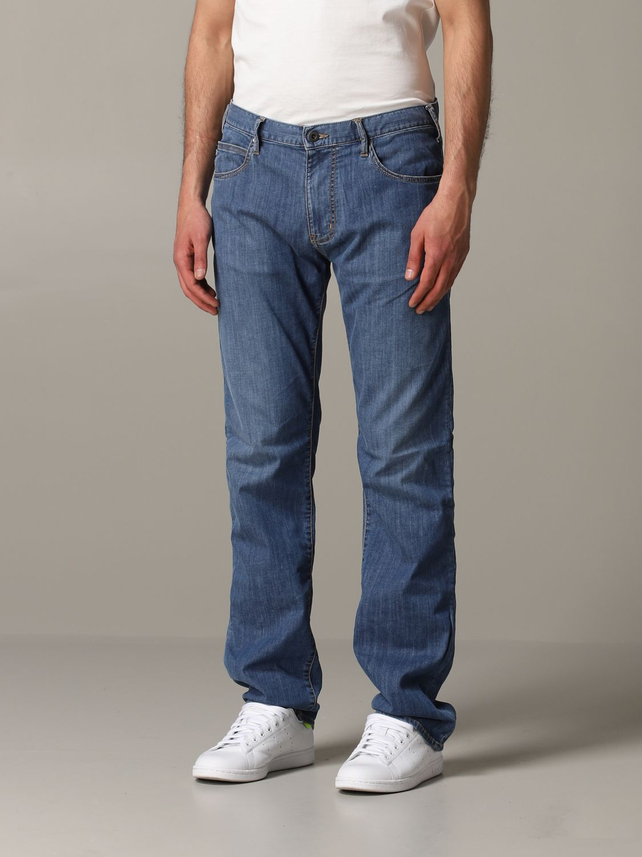 Jeans Emporio Armani: Emporio Armani Regular Fit Jeans denim 4