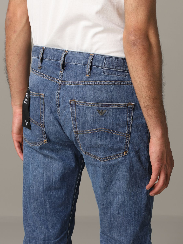 Jeans Emporio Armani: Emporio Armani Regular Fit Jeans denim 5