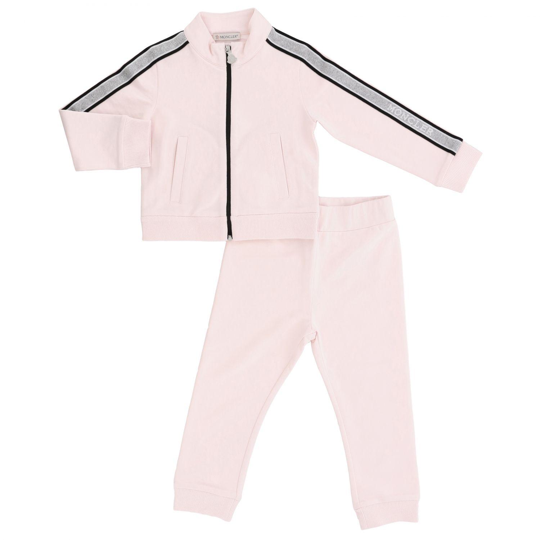 Tracksuit kids Moncler pink 1