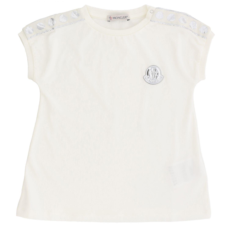 Moncler logo装饰短袖T恤 白色 1