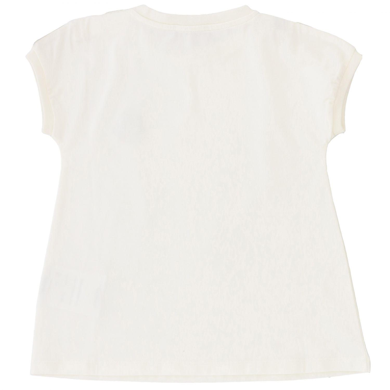 Moncler logo装饰短袖T恤 白色 2