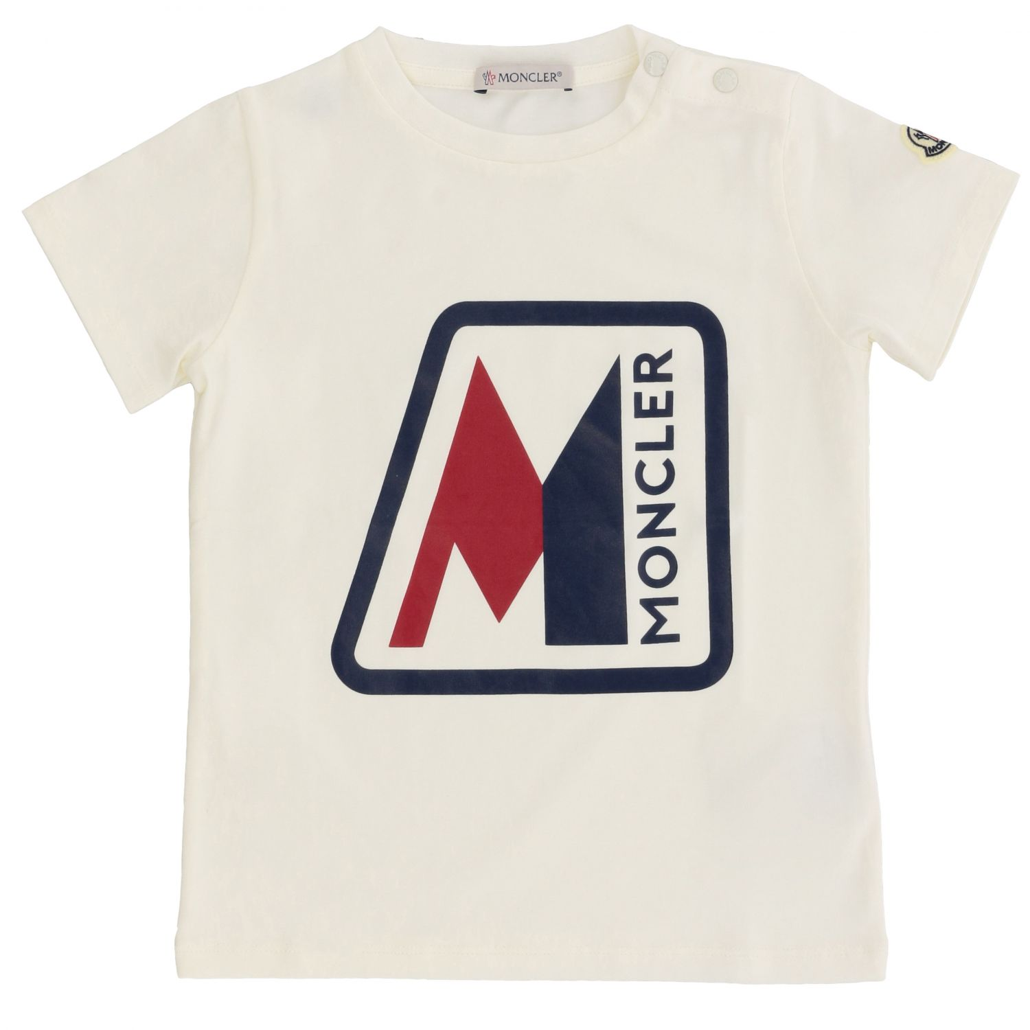 T-shirt kids Moncler white 1