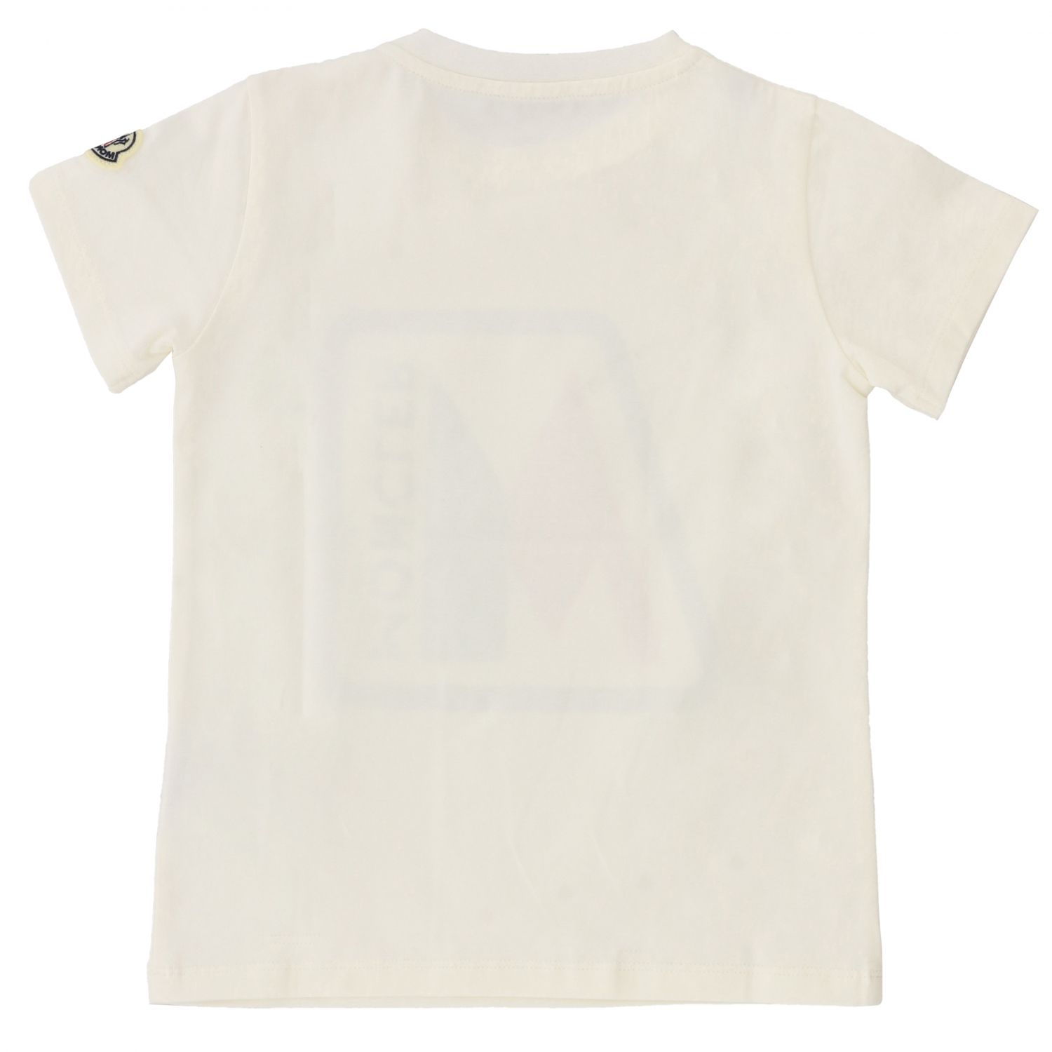 T-shirt kids Moncler white 2