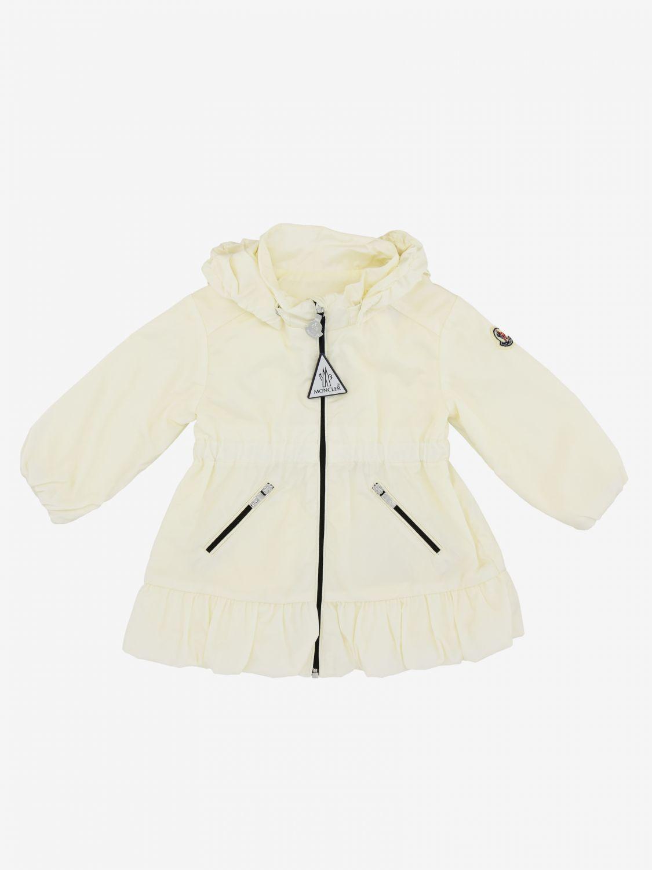 Moncler Geranium nylon jacket with hood white 1