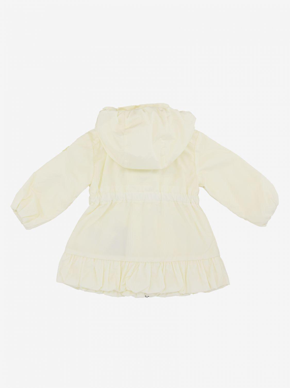 Moncler Geranium nylon jacket with hood white 2