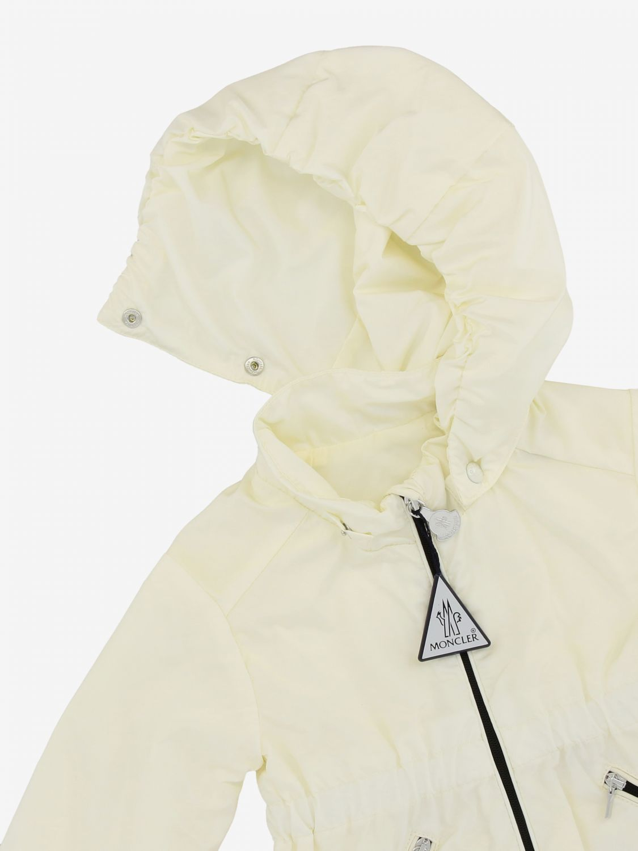 Moncler Geranium nylon jacket with hood white 3