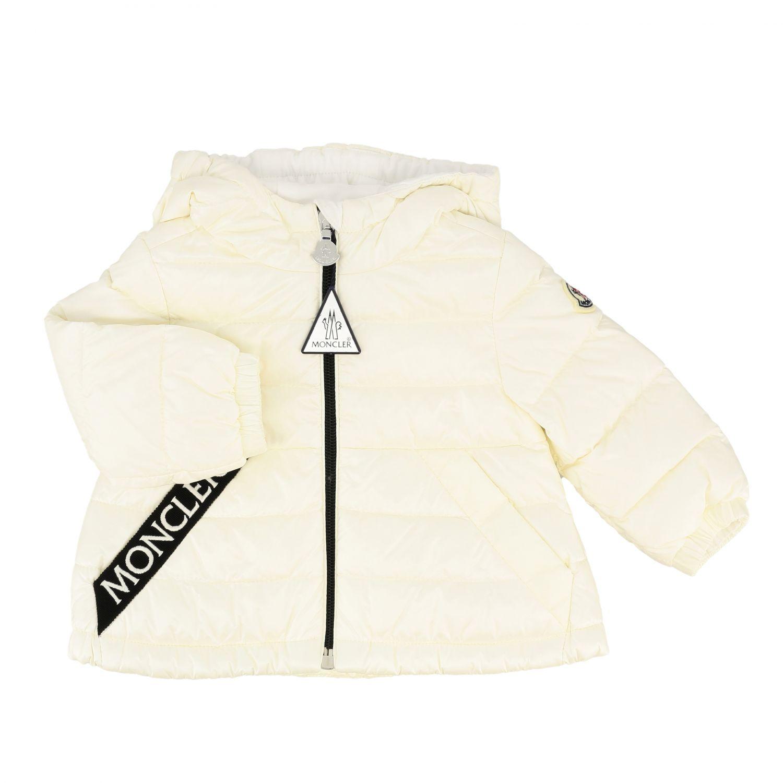 Moncler Muguet down jacket with hood white 1