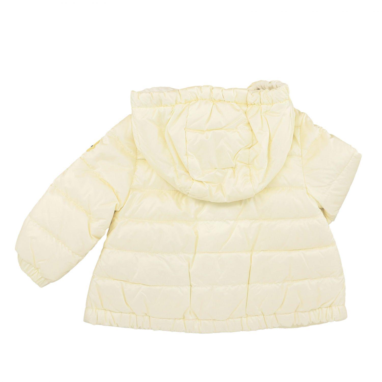 Moncler Muguet down jacket with hood white 2