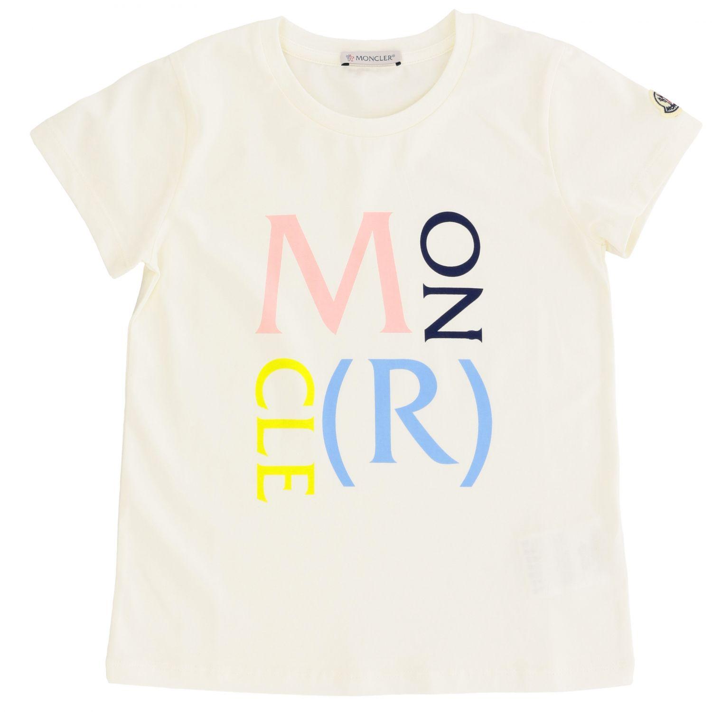 T-shirt kids Moncler white 1