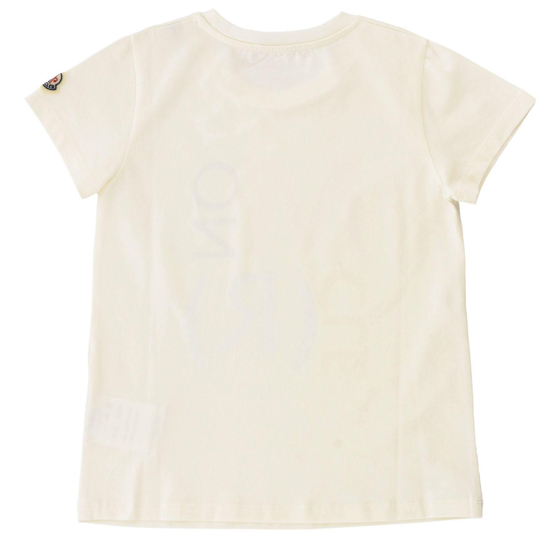 T-shirt kids Moncler white 2