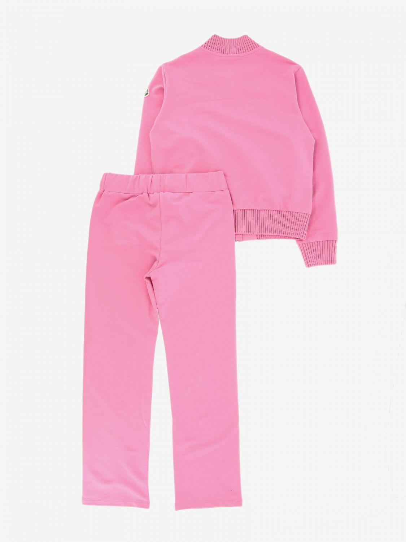 Anzug Moncler: Anzug kinder Moncler pink 2