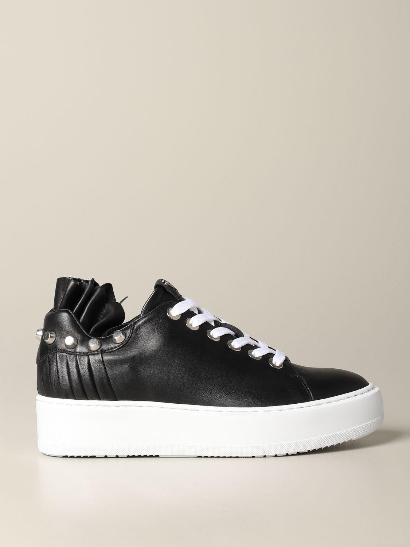 Baskets Paciotti 4Us: Chaussures femme Paciotti 4us noir 1