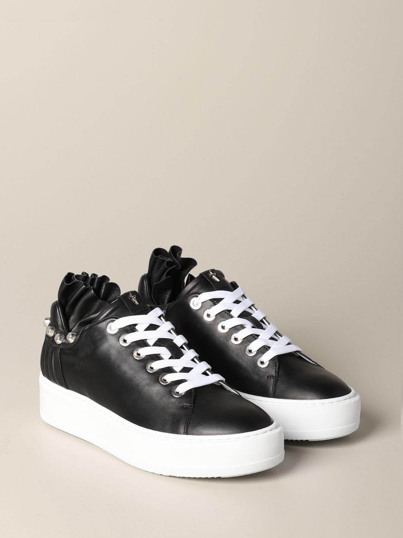 Baskets Paciotti 4Us: Chaussures femme Paciotti 4us noir 2