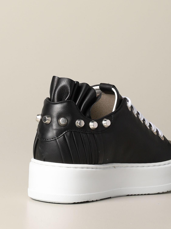 Baskets Paciotti 4Us: Chaussures femme Paciotti 4us noir 3