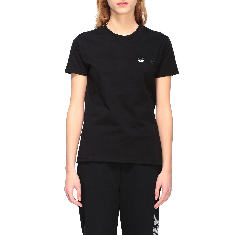 T-shirt women Chiara Ferragni black 1