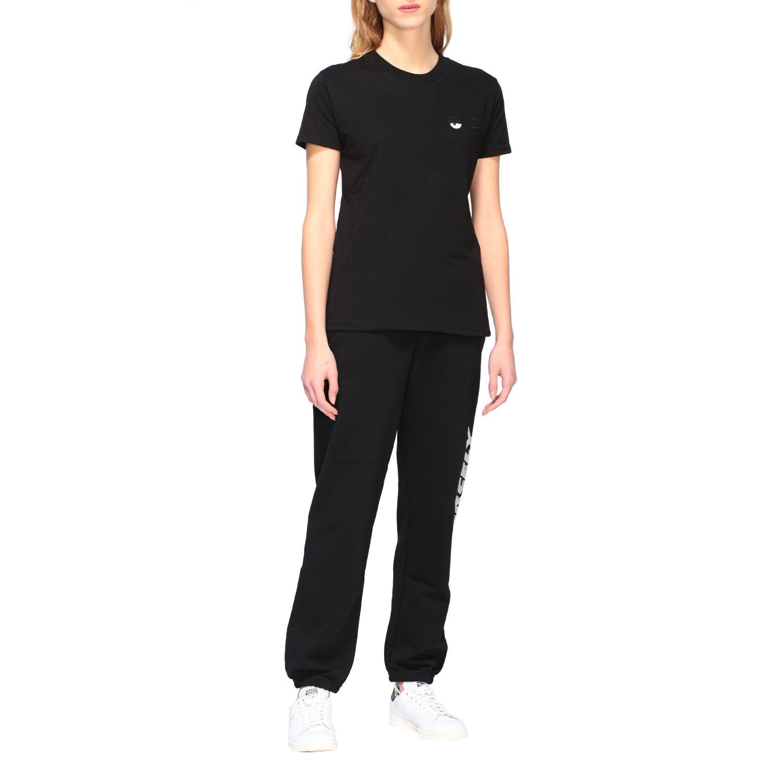 T-shirt women Chiara Ferragni black 2