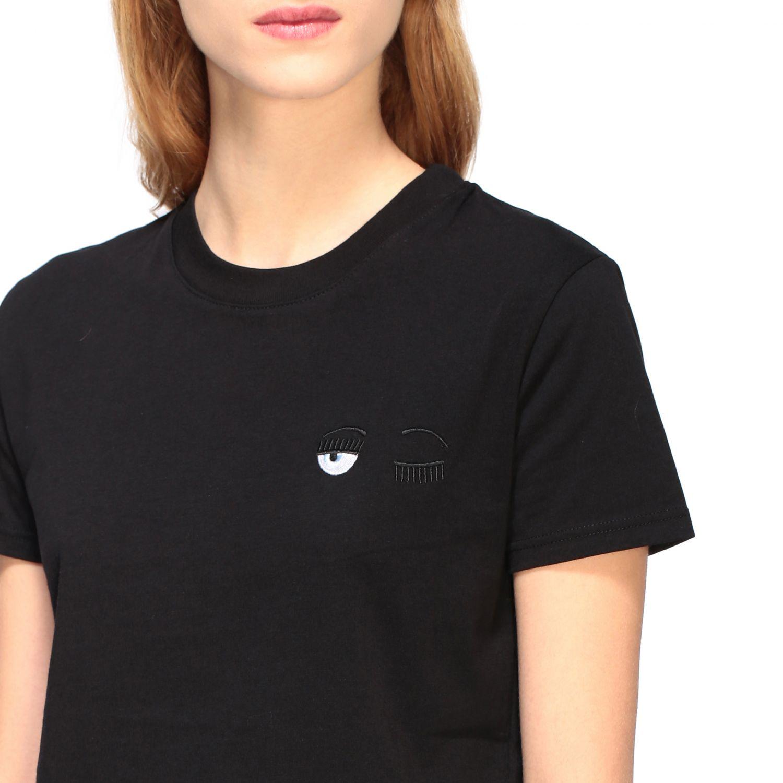 T-shirt women Chiara Ferragni black 5