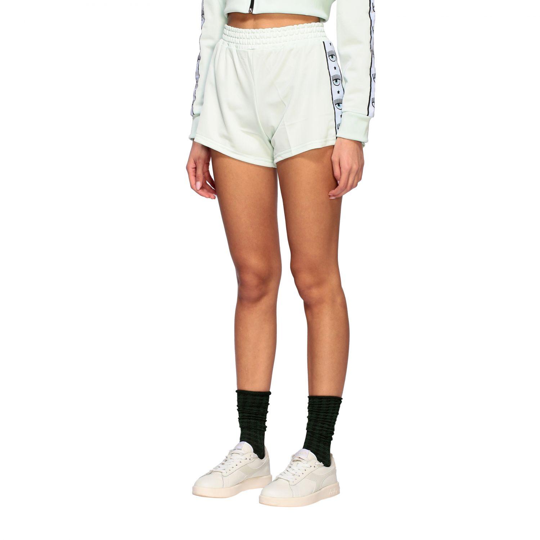 Trousers Chiara Ferragni: Short women Chiara Ferragni mint 4