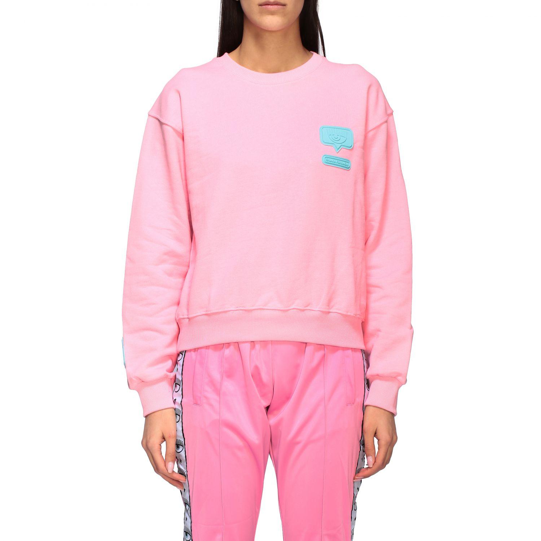 Sweatshirt women Chiara Ferragni pink 1