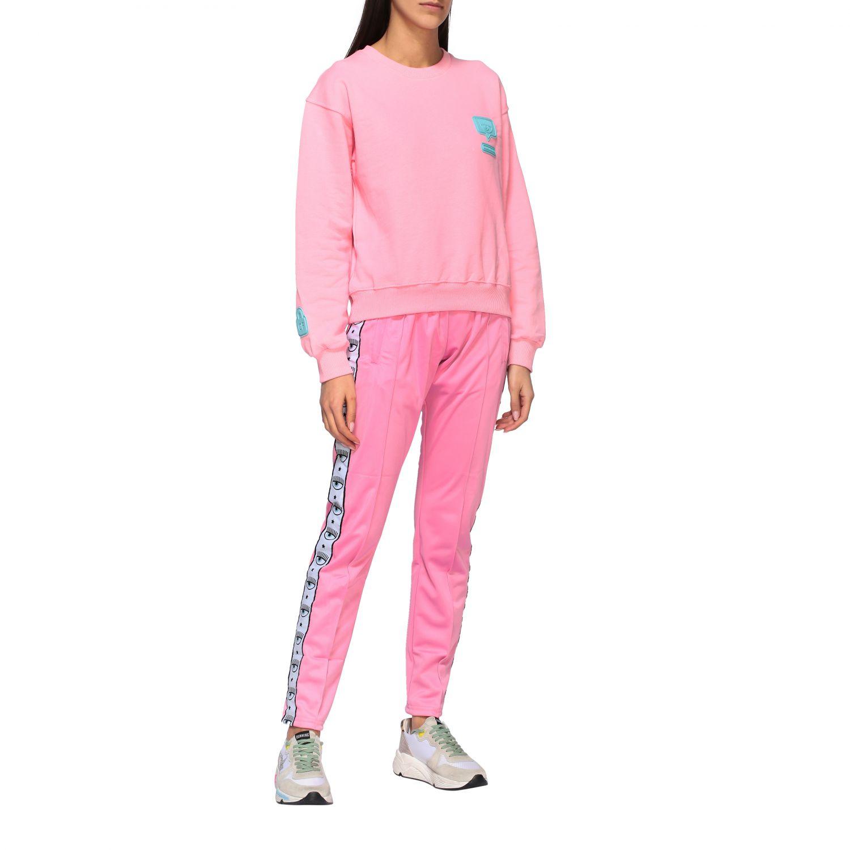 Sweatshirt women Chiara Ferragni pink 2