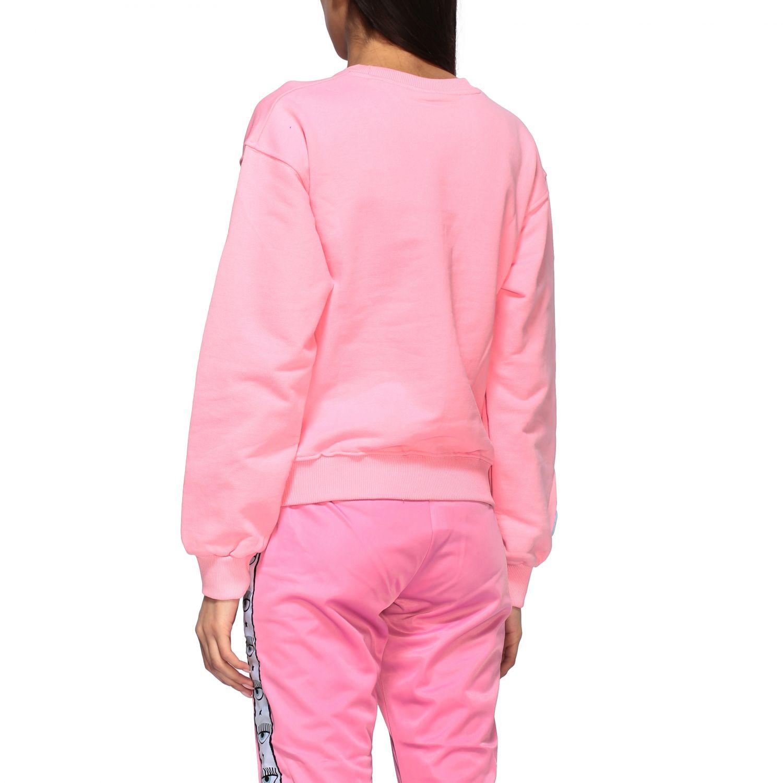 Sweatshirt women Chiara Ferragni pink 3