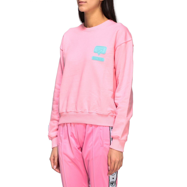 Sweatshirt women Chiara Ferragni pink 4