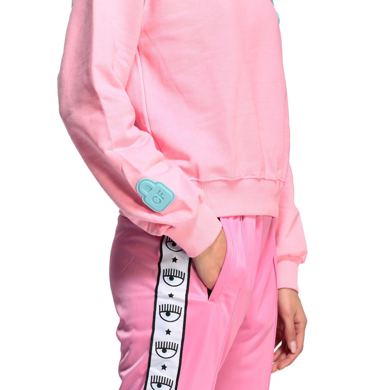 Sweatshirt women Chiara Ferragni pink 5