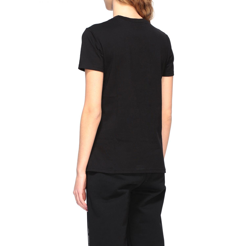 Chiara Ferragni t-shirt with embroidered mascot black 3