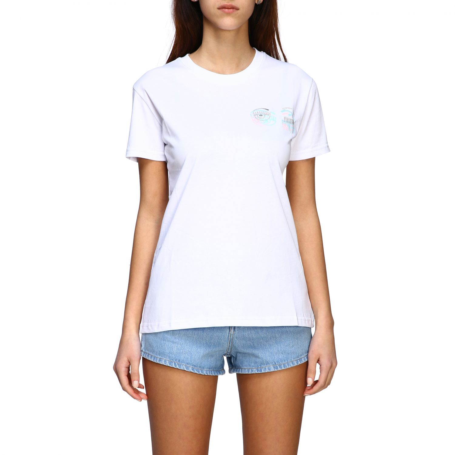 T-shirt women Chiara Ferragni white 1