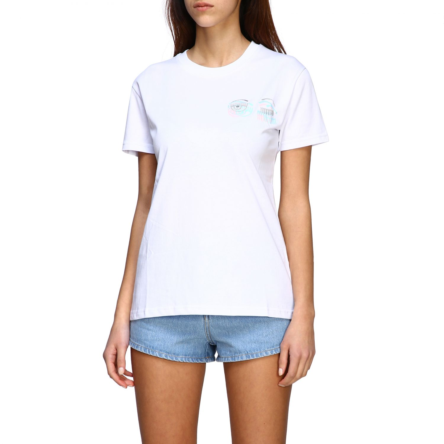 T-shirt women Chiara Ferragni white 4
