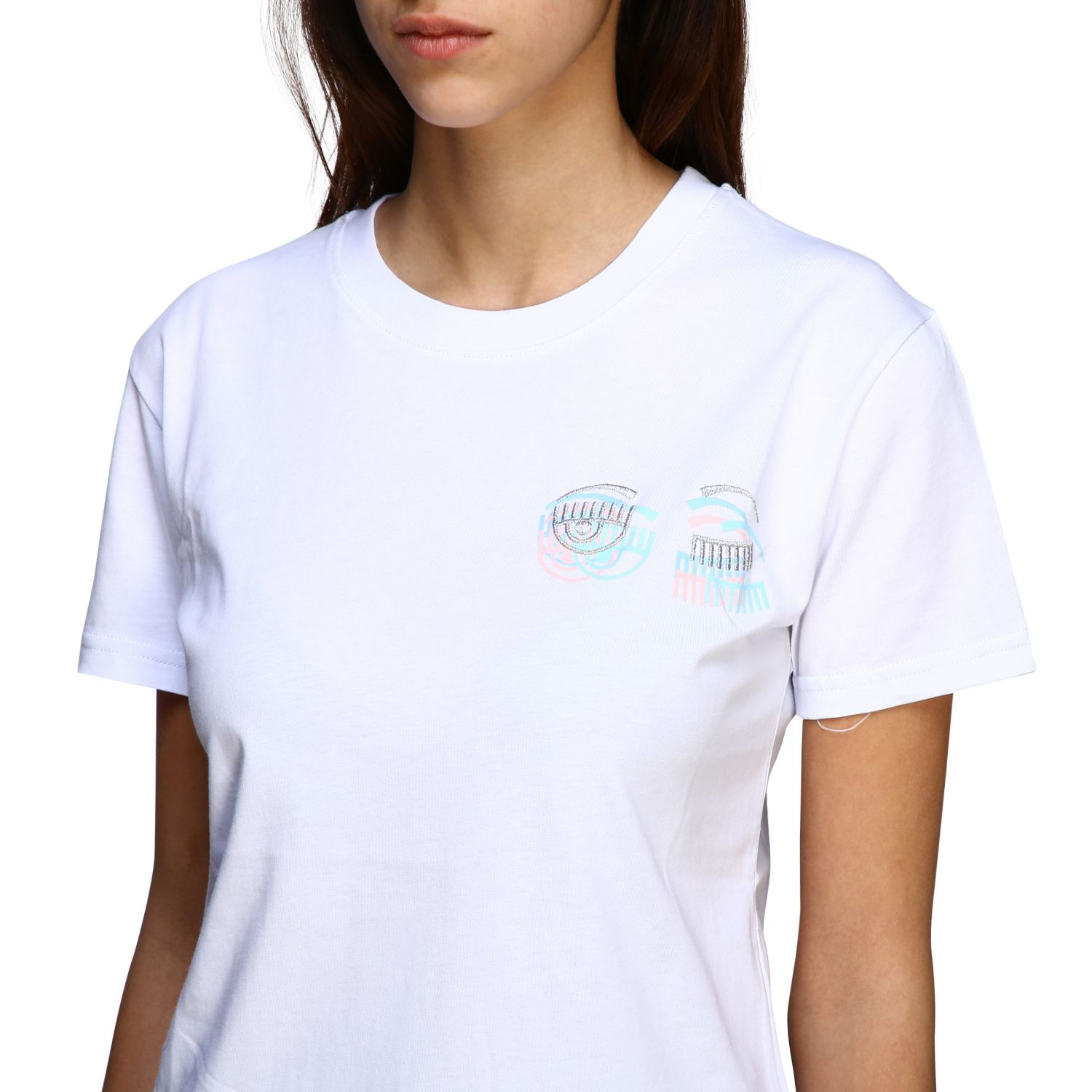 T-shirt women Chiara Ferragni white 5