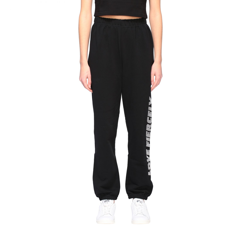 Trousers Chiara Ferragni: Trousers women Chiara Ferragni black 1