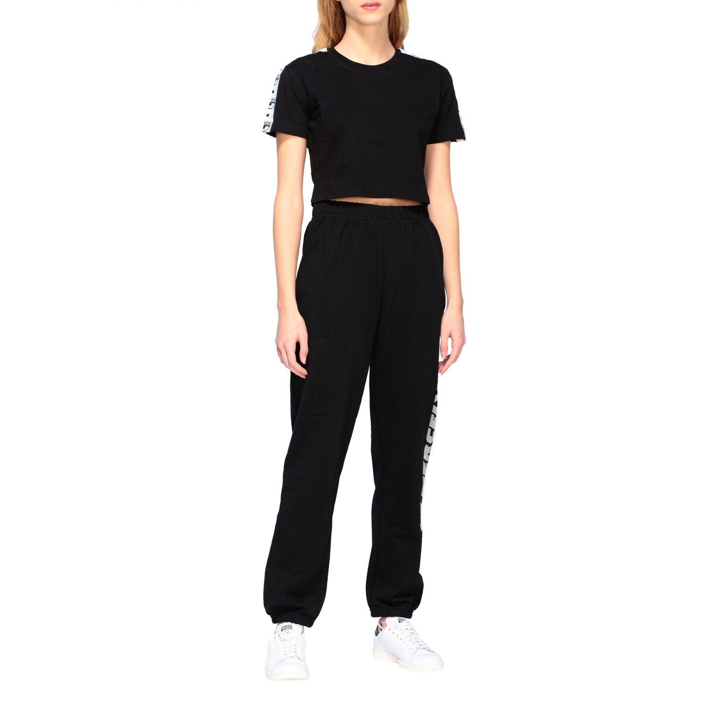 Trousers Chiara Ferragni: Trousers women Chiara Ferragni black 2