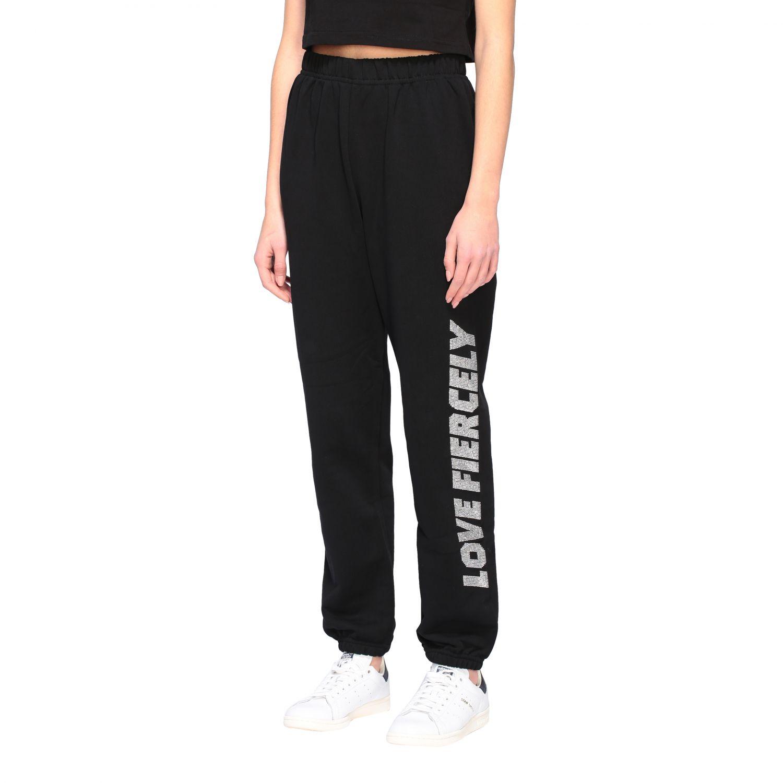 Trousers Chiara Ferragni: Trousers women Chiara Ferragni black 4