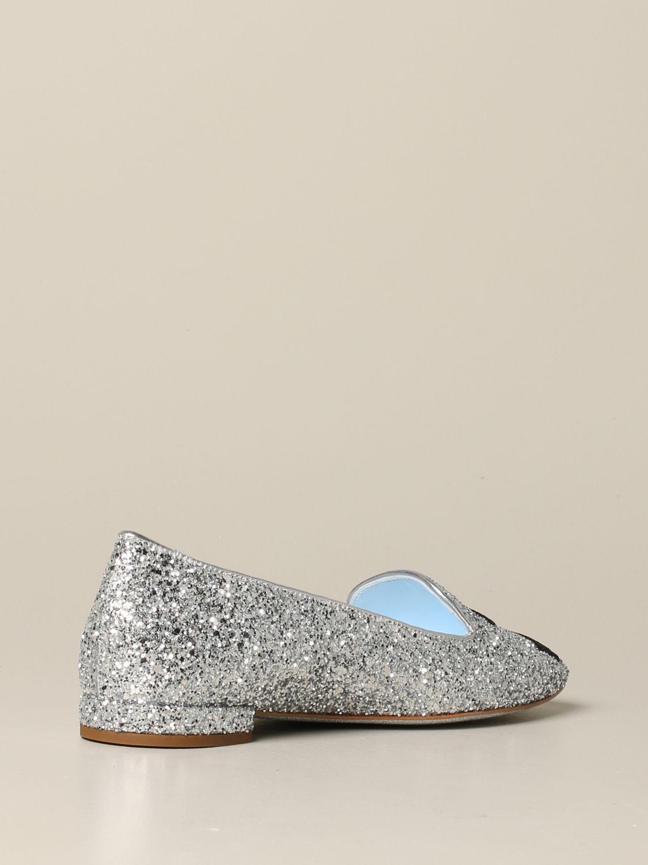 Loafers Chiara Ferragni: Shoes women Chiara Ferragni silver 5