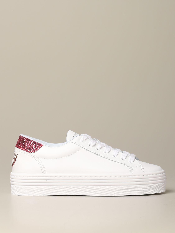 Shoes women Chiara Ferragni white 1