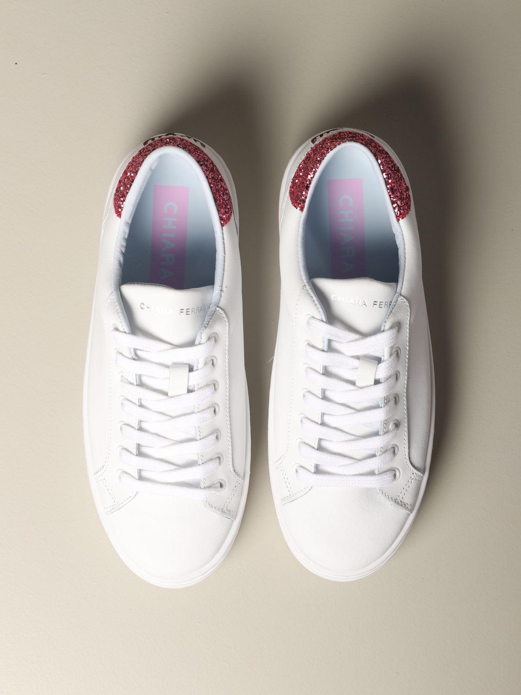 Shoes women Chiara Ferragni white 3
