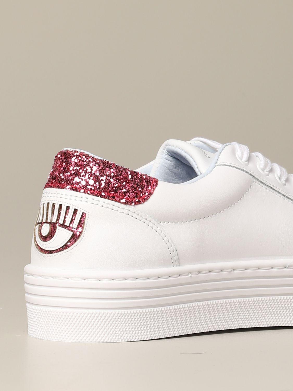 Shoes women Chiara Ferragni white 5