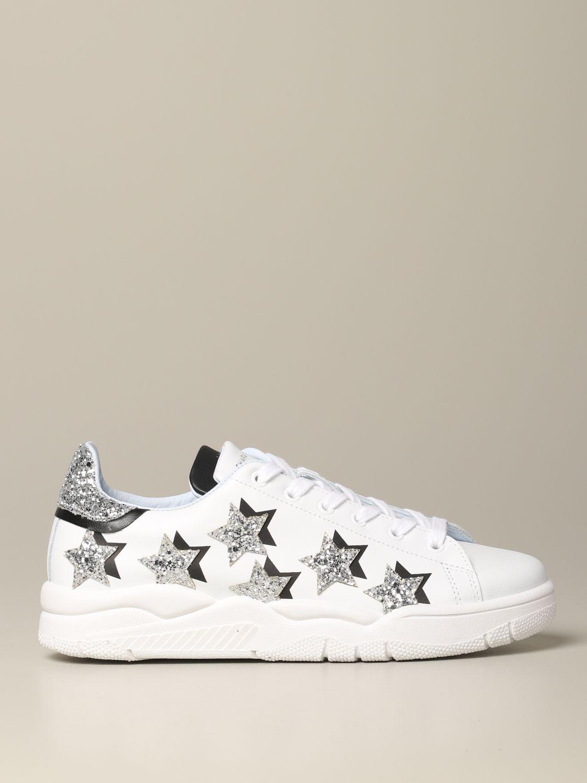 Sneakers Chiara Ferragni: Shoes women Chiara Ferragni white 1