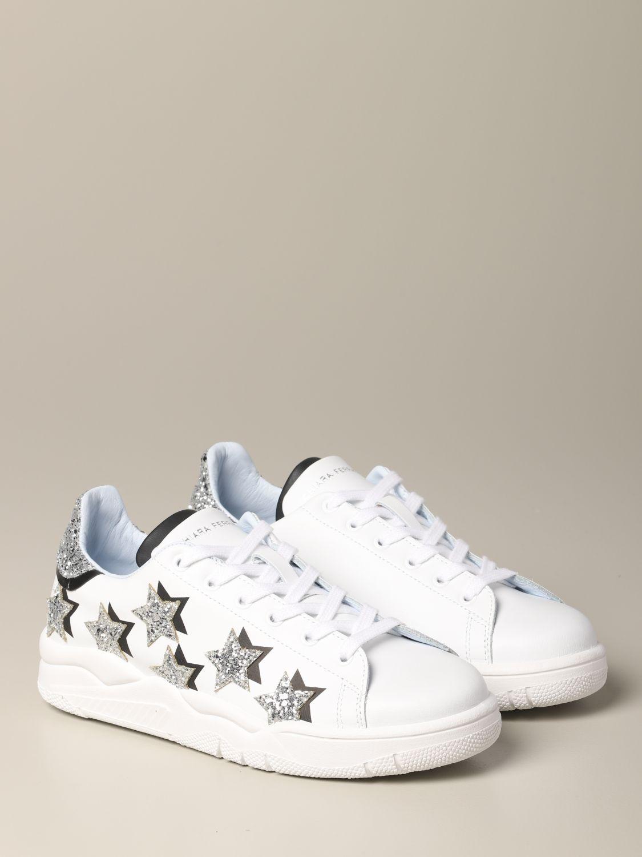 Sneakers Chiara Ferragni: Shoes women Chiara Ferragni white 2